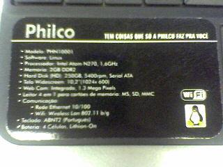 Philco PHN 10001